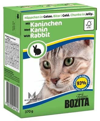 BOZITA Cat Triušis Drebučiuose370g