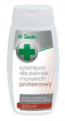 Dr. Seidel baltyminis šampūnas jūrų kiaulytėms 220ml