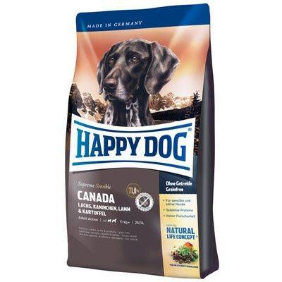 Happy Dog Supreme Sensible Canada 12,5kg + DOLINA NOTECI 400g