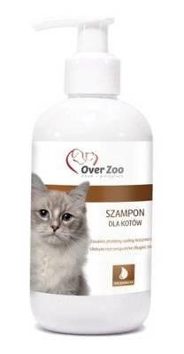 OVER ZOO Šampūnas katėms 250ml