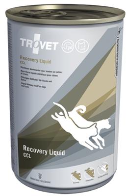 TROVET CCL Kritinės priežiūros skystis (katėms ir šunims) 400 ml - skardinė