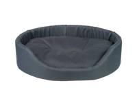 AMIPLAY - Ovali lova Basic tamsiai mėlyna - S