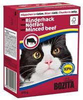 BOZITA Cat Kapota jautiena drebučiuose 370g