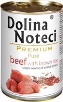 Dolina Noteci Premium Pure jautiena su rudaisiais ryžiais 800g