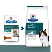 HILL'S PD Prescription Diet Feline w/d su Vištiena 1,5kg