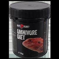 REPTI PLANET Omnivore Diet visavalgių gyvūnų papildomas maistas 75g