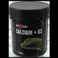 REPTI PLANET papildomas maistas Kalcis + D3 125g - Kalcis su vitaminu D3 125g